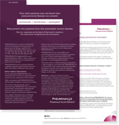Resource: Key Phrases to Help Reinforce the Importance of Pneumococcal Vaccination