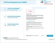 E-Prescribing Vaccines Toolkit