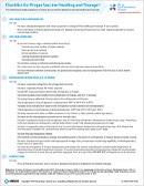 Checklist for Proper Vaccine Storage and Handling