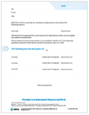 Physician Notification Letter for Patient Vaccinations