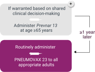 Sequential Administration of PNEUMOVAX®23 (Pneumococcal Vaccine Polyvalent) for Pneumococcal Vaccine-Naïve Persons Aged ≥65 Years