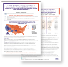 Download the State Level Hepatitis A Vaccination Rates for Adolescents